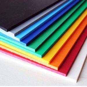 color pvc board